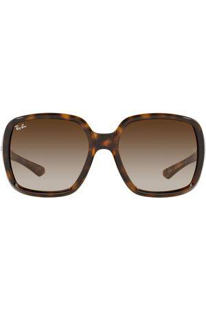 Ray-Ban Tortoise-sheel oversize sunglasses