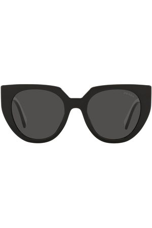 Prada Logo arm cat-eye sunglasses