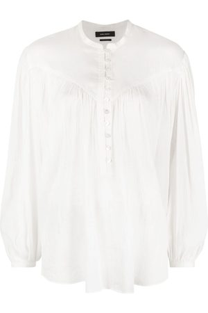 Isabel Marant Kiledia long-sleeve blouse