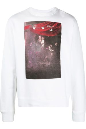 OFF-WHITE Arrows-motif printed sweatshirt