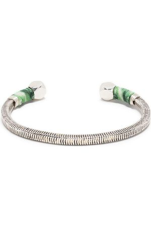 Gas Bijoux Sari ridged thread cuff
