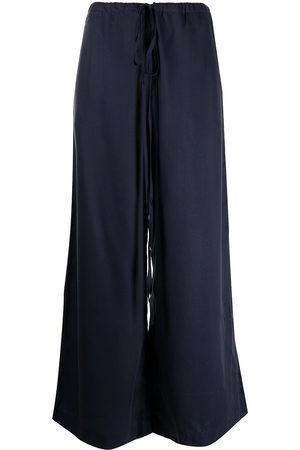 Bondi Born Ženy Široké nohavice - Fluid drawstring palazzo trousers