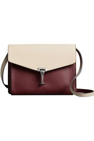 Burberry Two-tone Leather Crossbody Bag