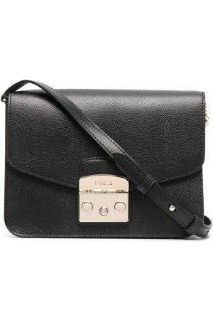 Furla Grained leather crossbody bag