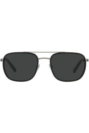 Bvlgari Aviator-style sunglasses