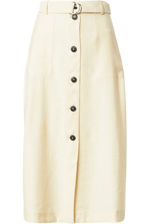 Tommy Hilfiger Sukně ' X ABOUT YOU BUTTONED MIDI SKIRT