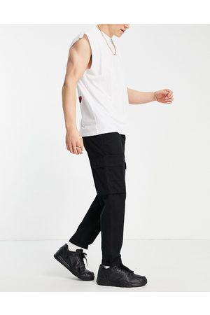 New Look Cargo trouser in black