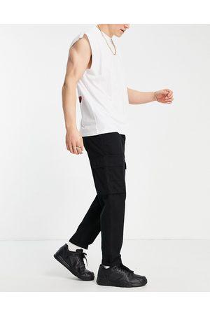 New Look Cargo trouser in black
