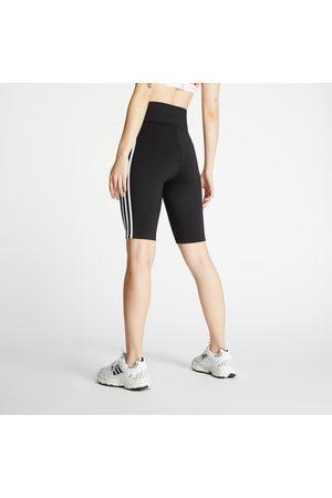 adidas Ženy Punčochy - Adidas High Waisted Shorts Tights Primeblue Black