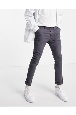 ASOS Skinny chinos in charcoal-Grey
