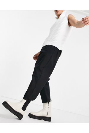ASOS Muži Chino - Drop crotch trousers in black