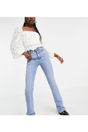 New Look Ženy Mom džíny - Mom flare jean in light blue