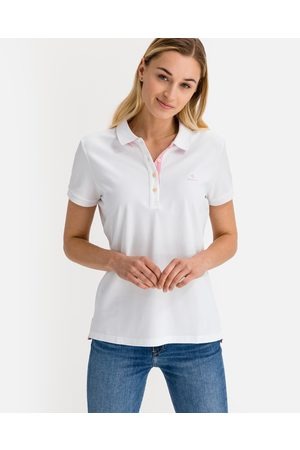 Gant Ženy S límečkem - Contrast Collar Polo triko