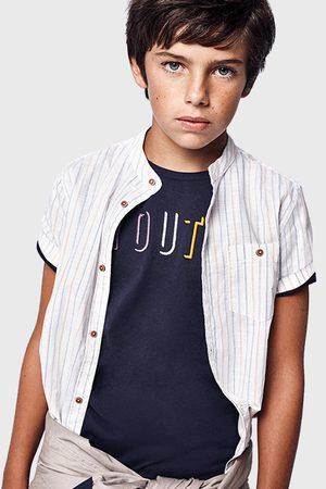 Mayoral Moda Infantil, S:A.U. Chlapecké tričko Youth Mayoral tmavěmodré