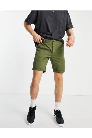 New Look Muži Chino - Chino short in khaki-Green