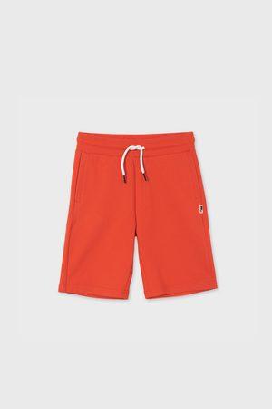 Mayoral Moda Infantil, S:A.U. Chlapecké šortky Mayoral Hibicus červené
