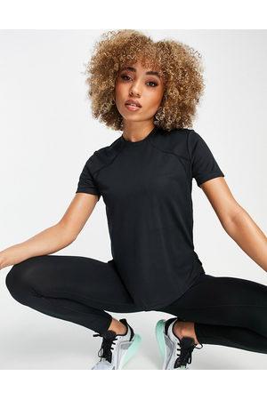 ASOS Ženy S krátkým rukávem - Icon performance t-shirt-Black