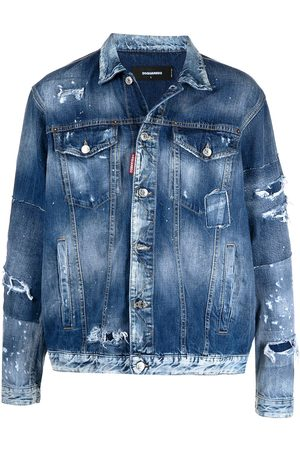 Dsquared2 Button-front denim jacket
