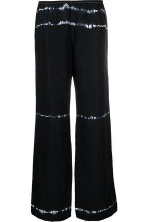Giorgio Armani Pre-Owned 2000s tie-dye print wide-leg trousers