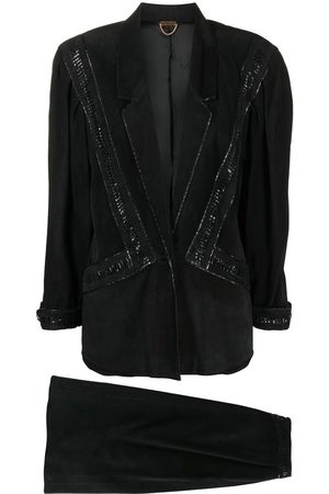 A.N.G.E.L.O. Vintage Cult 1980s single-breasted skirt suit