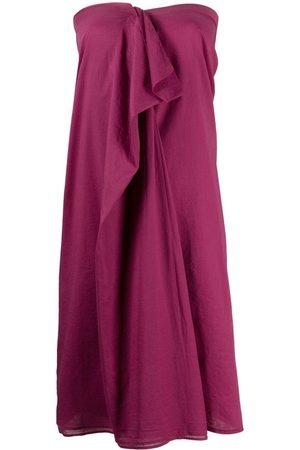 Maison Martin Margiela Pre-Owned 2000s ruffled detailing strapless dress