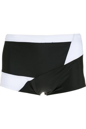Amir Slama Panelled two-tone swimming trunks