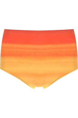 Amir Slama Tie-dye gradient swimming trunks