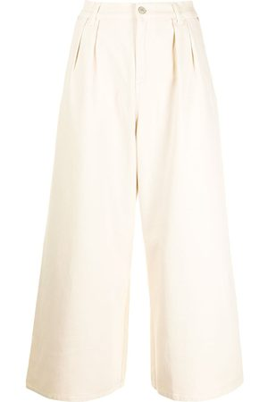 PS Paul Smith Wide-leg cropped jeans