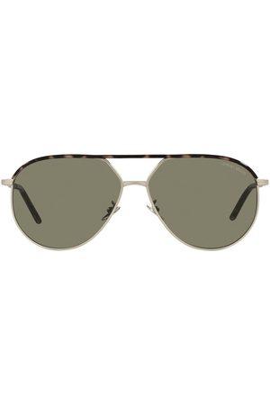 Giorgio Armani Aviator-frame sunglasses