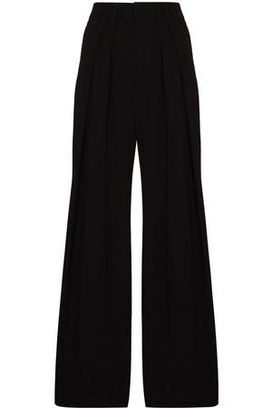 Chloé Pleated wide-leg trousers