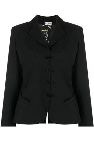 Alaïa 1991-1992 notched lapels skirt suit
