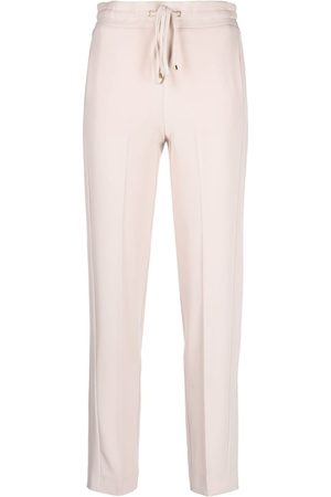 Blumarine Drawstring slim-fit trousers