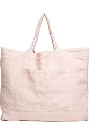 Once Milano Weekend linen tote bag