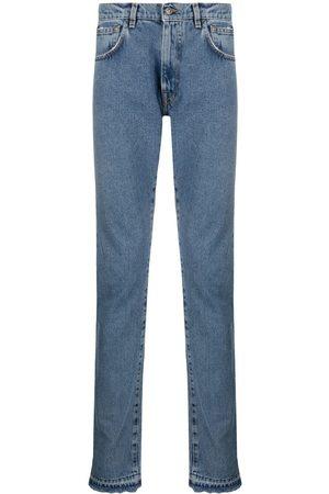424 Mid-rise straight-leg jeans