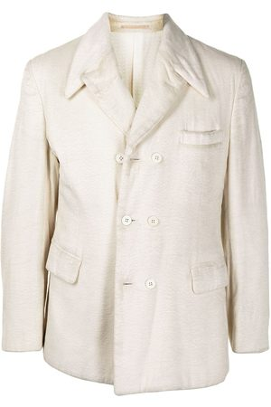 Comme Des Garçons Pre-Owned Peaked lapels double-breasted blazer