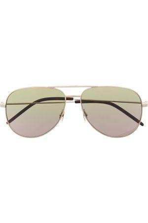 Saint Laurent Aviator-frame gradient sunglasses