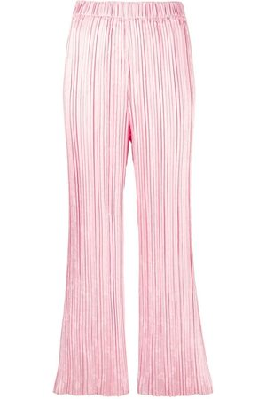 FORTE FORTE Pleated wide-leg trousers