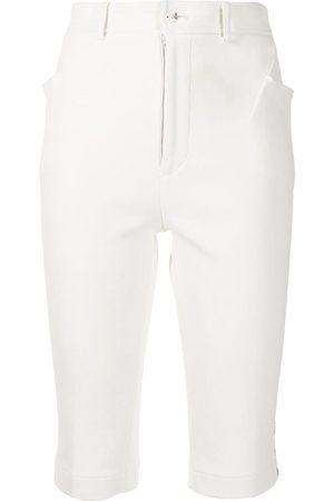 Comme des Garçons Slim-fit knee-length shorts