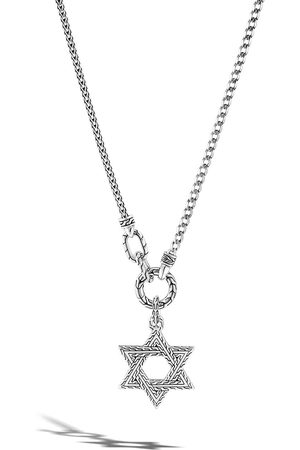 John Hardy Classic Chain Silver Small Star of David pendant necklace