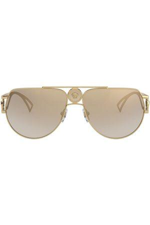 VERSACE Muži Sluneční brýle - Medusa aviator-frame sunglasses
