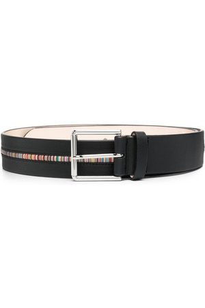 Paul Smith Artist-stripe leather belt