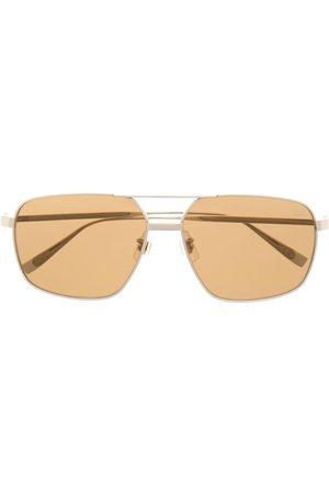 Dunhill Aviator frame sunglasses