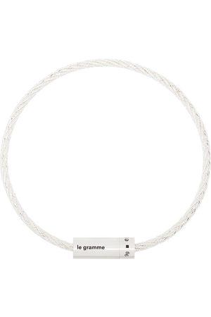 Le Gramme Le 9g brushed cable bracelet