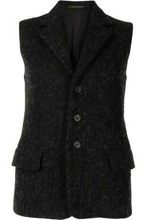 YOHJI YAMAMOTO Single-breasted waistcoat