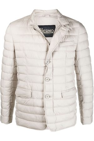 HERNO Padded button-up jacket