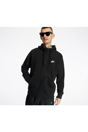 Nike Sportswear Club Hoodie FZ Ft Black/ Black/ White