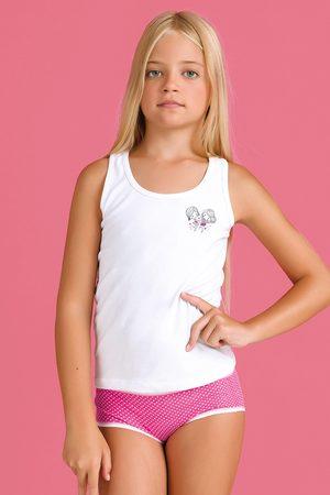 JADEA Dívčí komplet kalhotek a tílka Bamboline II