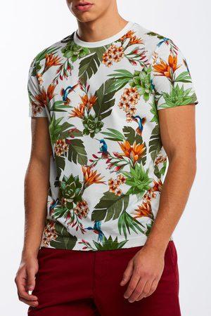 GANT Tričko D2. Humming Garden Ss T-Shirt