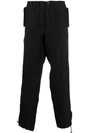 Maison Margiela Muži Rovné nohavice - Four-stitch drawstring trousers