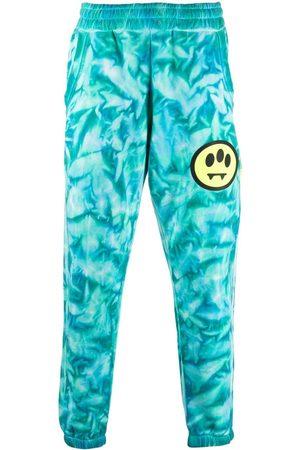 BARROW Muži Úzké nohavice - Tie dye-print slim-fit track pants